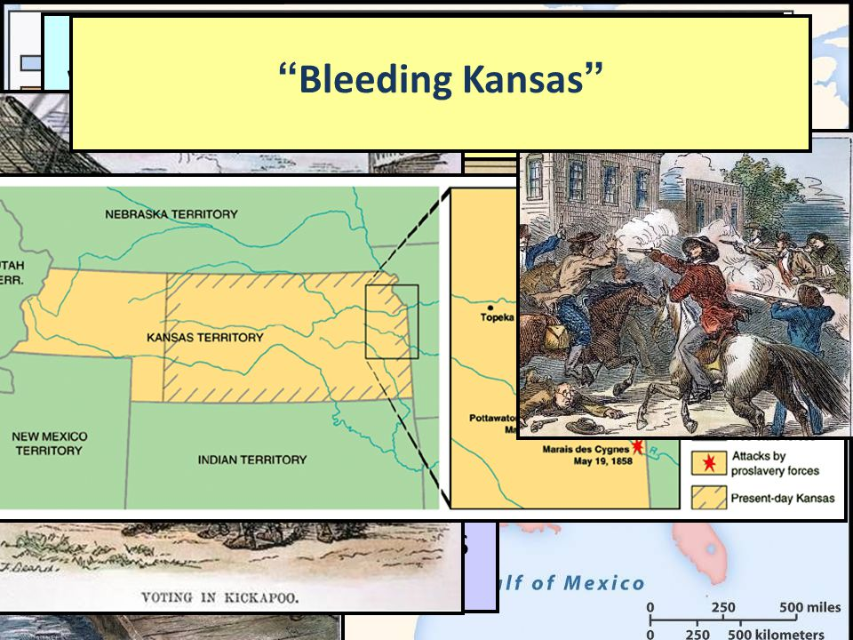 Free-soilers from Kansas voted against slavery