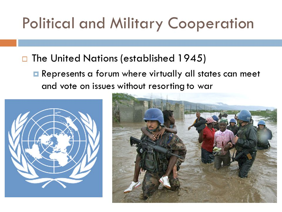 Political and Military Cooperation