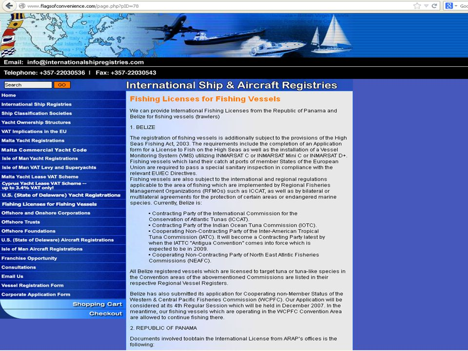 Example of open register online