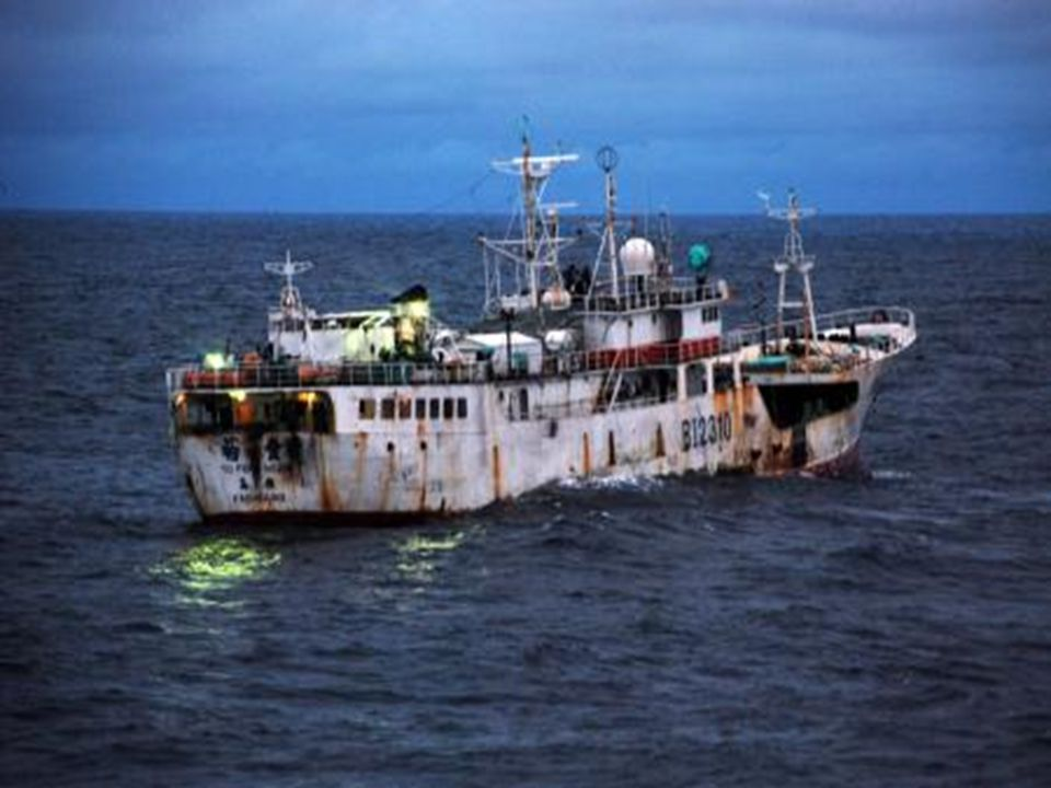 Suspected IUU vessel of Sierre Leone