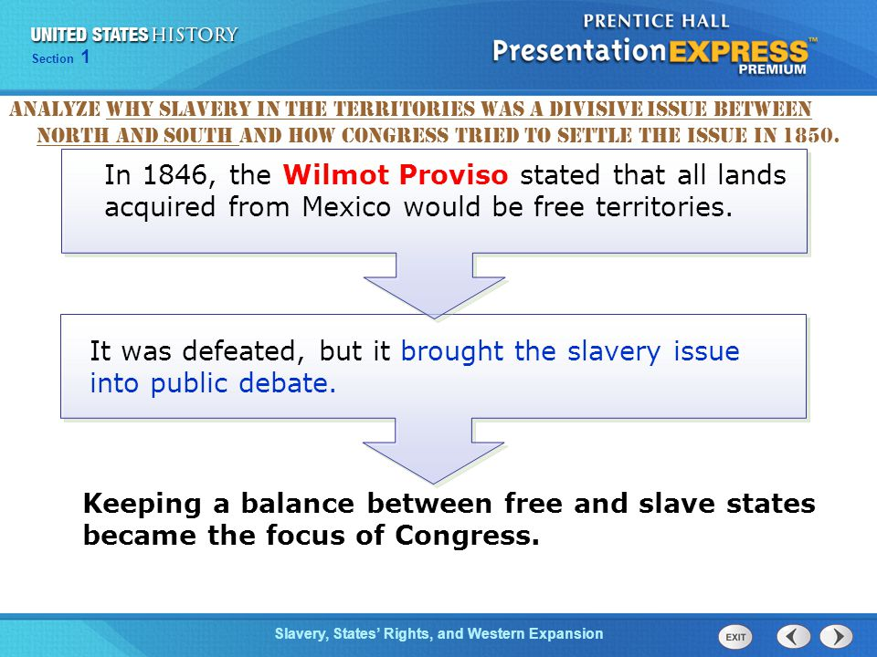 It was defeated, but it brought the slavery issue into public debate.