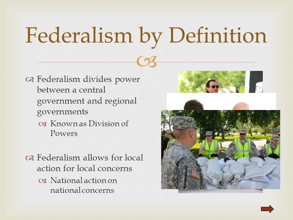 Federalism by Definition
