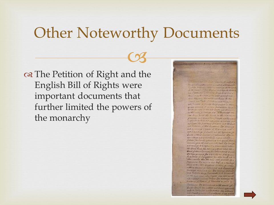 Other Noteworthy Documents