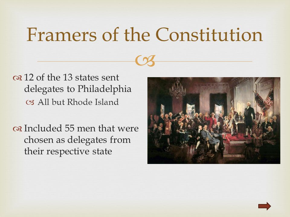 Framers of the Constitution