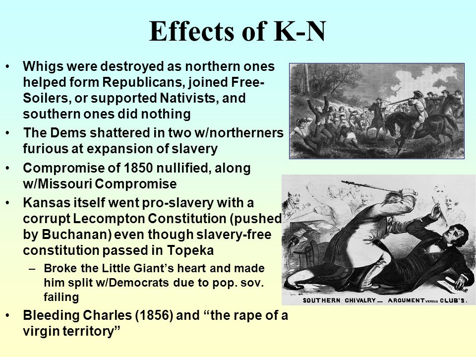 Effects of K-N