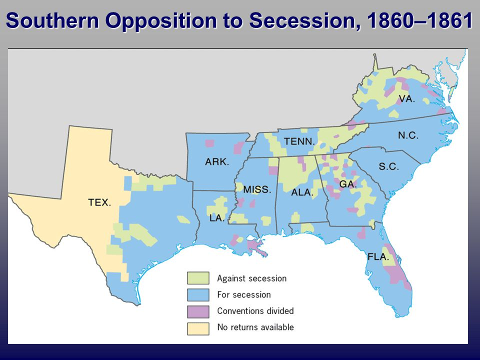 Southern Secession - Lessons - Tes Teach