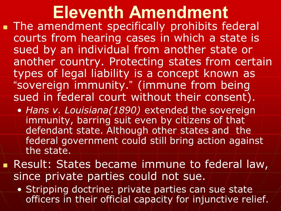 Eleventh Amendment