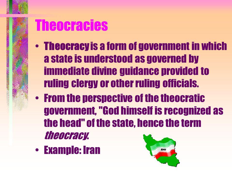 Theocracies