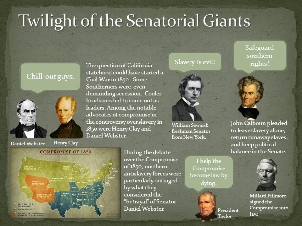 Twilight of the Senatorial Giants