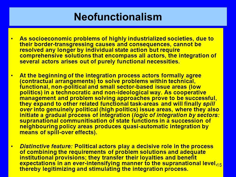 Neofunctionalism