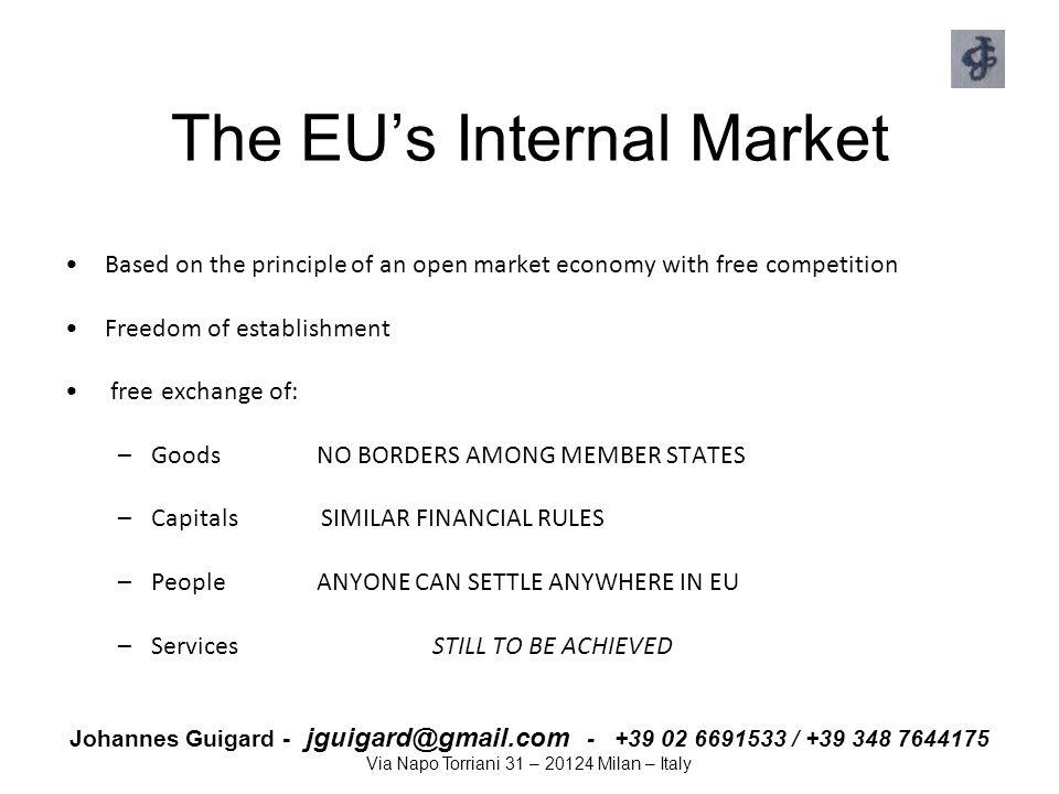 The EU's Internal Market