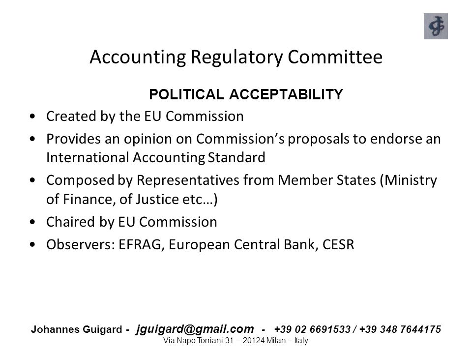 Accounting Regulatory Committee
