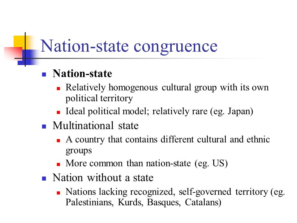 Nation-state congruence