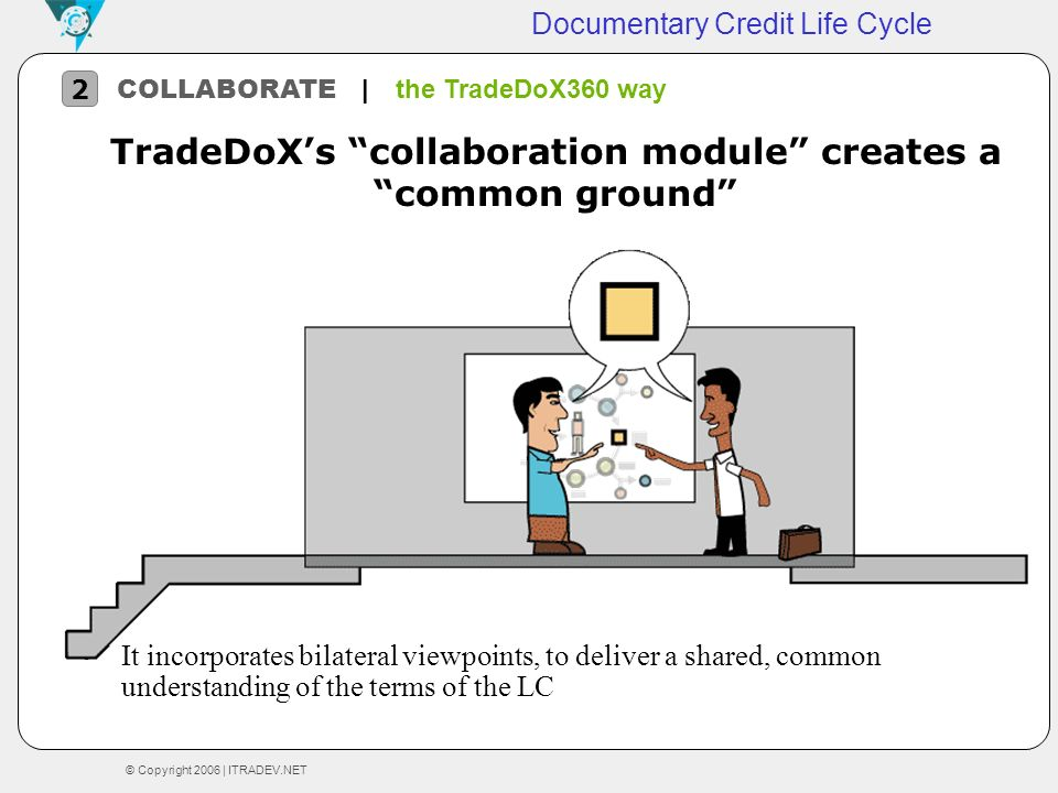 TradeDoX's collaboration module creates a common ground