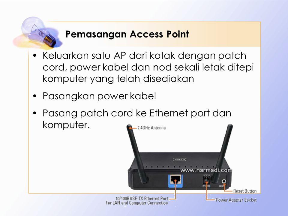 Pemasangan Access Point