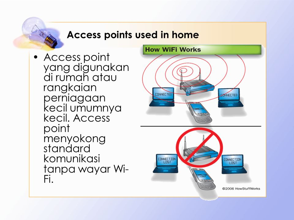 Access points used in home