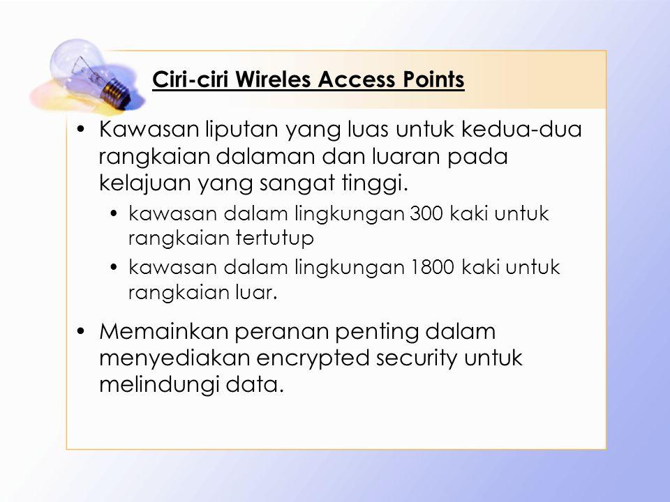Ciri-ciri Wireles Access Points
