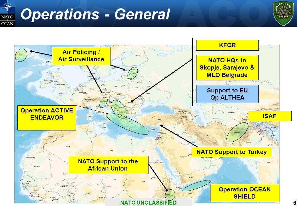 Operations - General KFOR Air Policing / Air Surveillance NATO HQs in