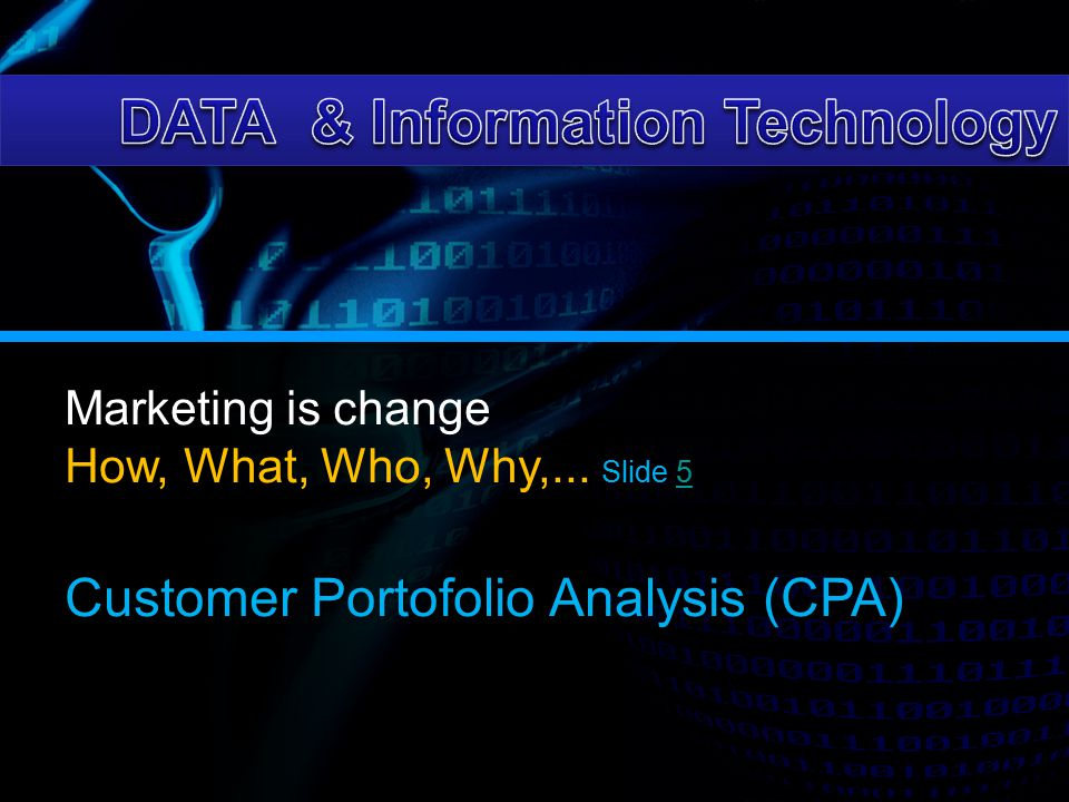DATA & Information Technology