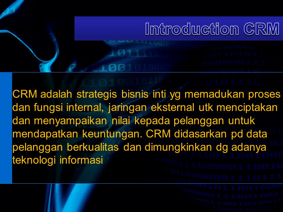 Introduction CRM