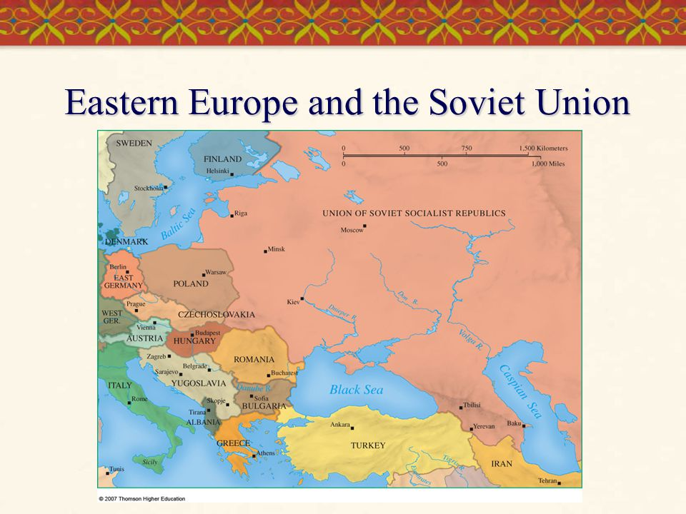 Eastern Europe and the Soviet Union