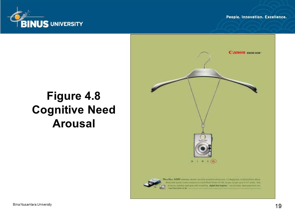 Figure 4.8 Cognitive Need Arousal