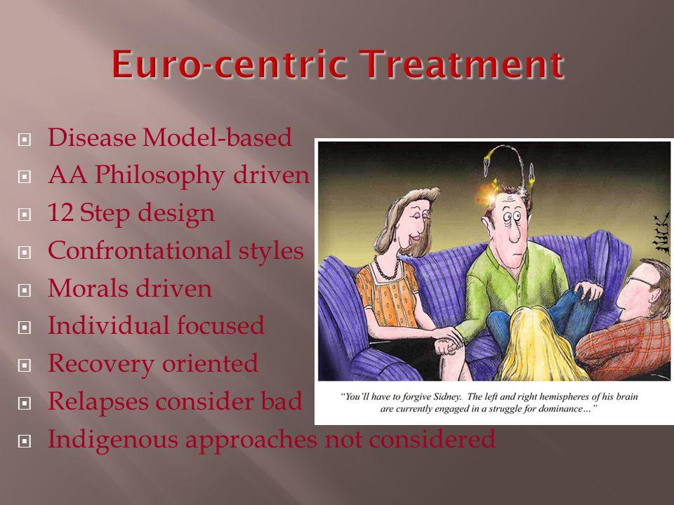 Euro-centric Treatment