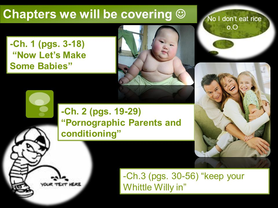 Chapters we will be covering 