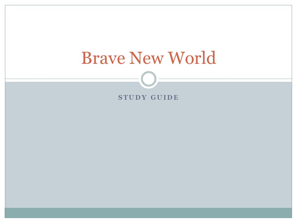 "brave new world theme analysis Brave new world: a critical analysis  ""o brave new world, that has such  theme and setting are so tightly interwoven in the importance of this play as the."