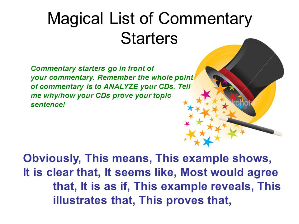 Literary Analysis Essays - ppt download