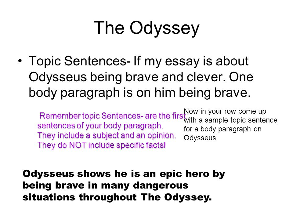 essay on odysseus Essays - largest database of quality sample essays and research papers on essay on odysseus character traits.