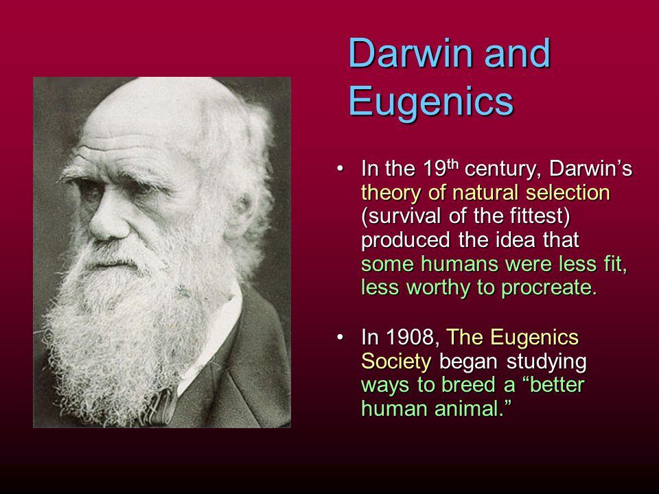 Darwin and Eugenics