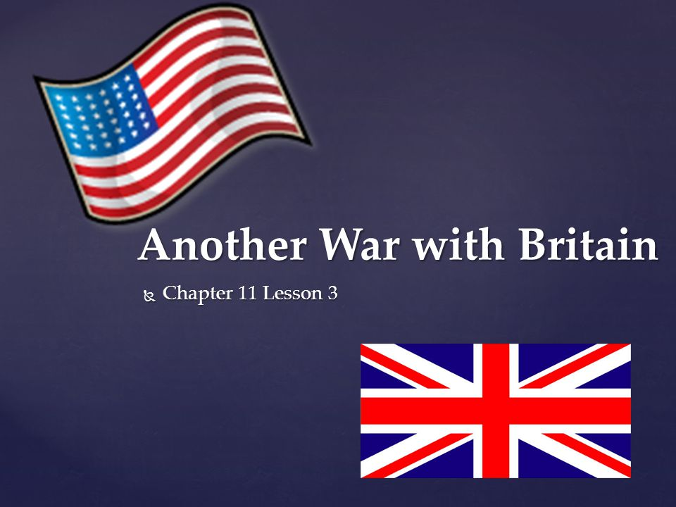 Another War with Britain