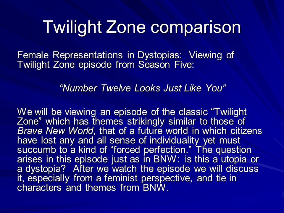 Twilight Zone comparison