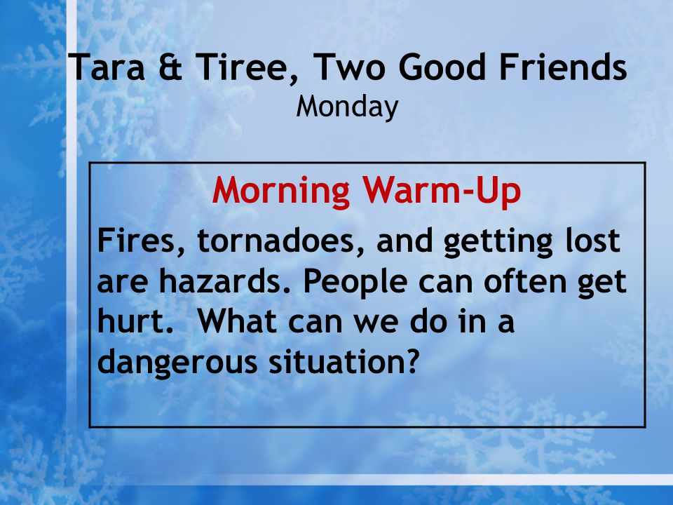 Tara & Tiree, Two Good Friends Monday
