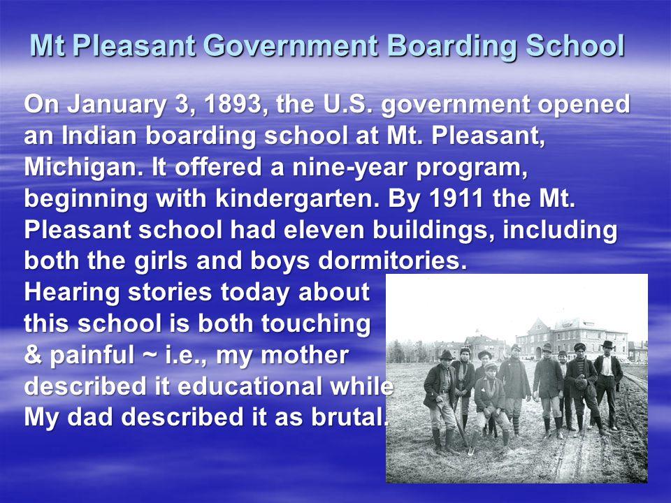 Mt Pleasant Government Boarding School