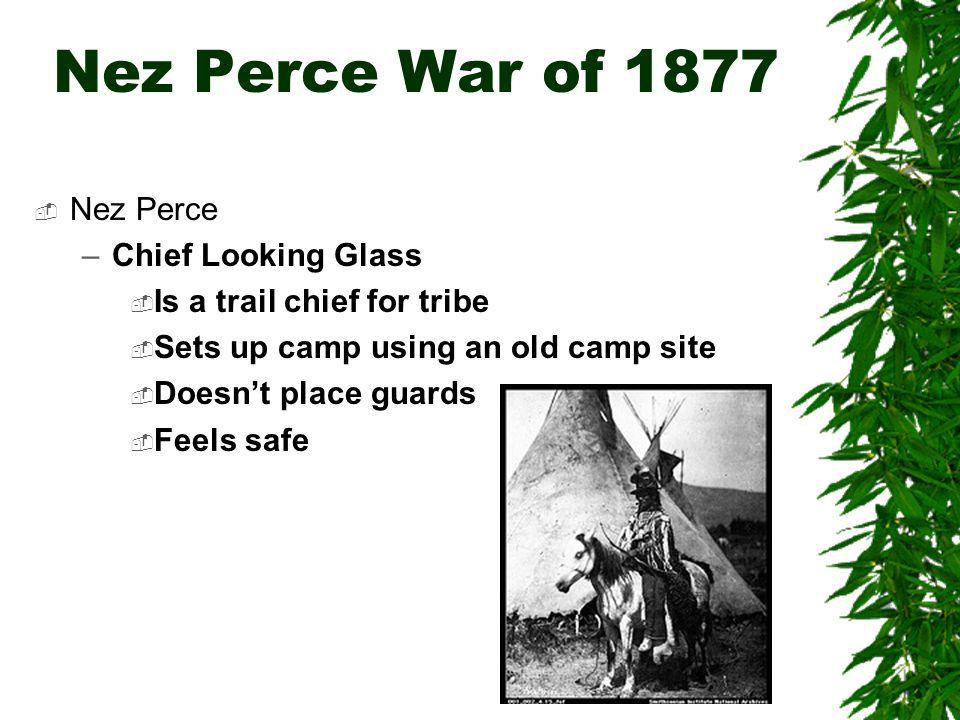 Nez Perce War of 1877 Nez Perce Chief Looking Glass