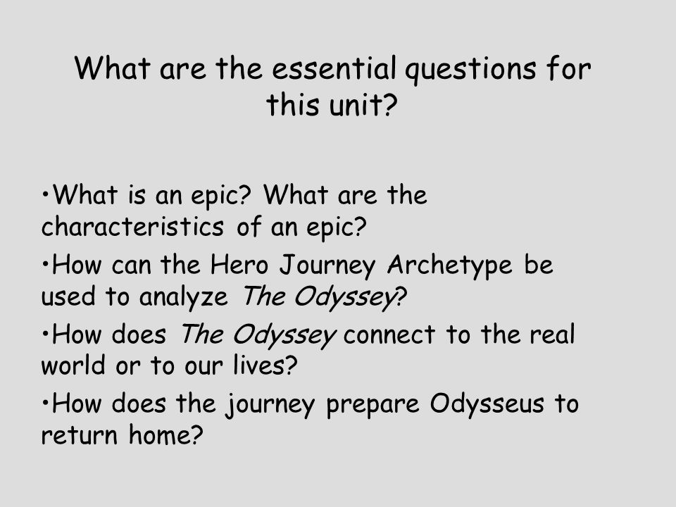 What are the essential questions for this unit