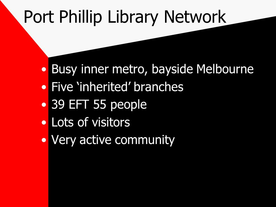 Port Phillip Library Network