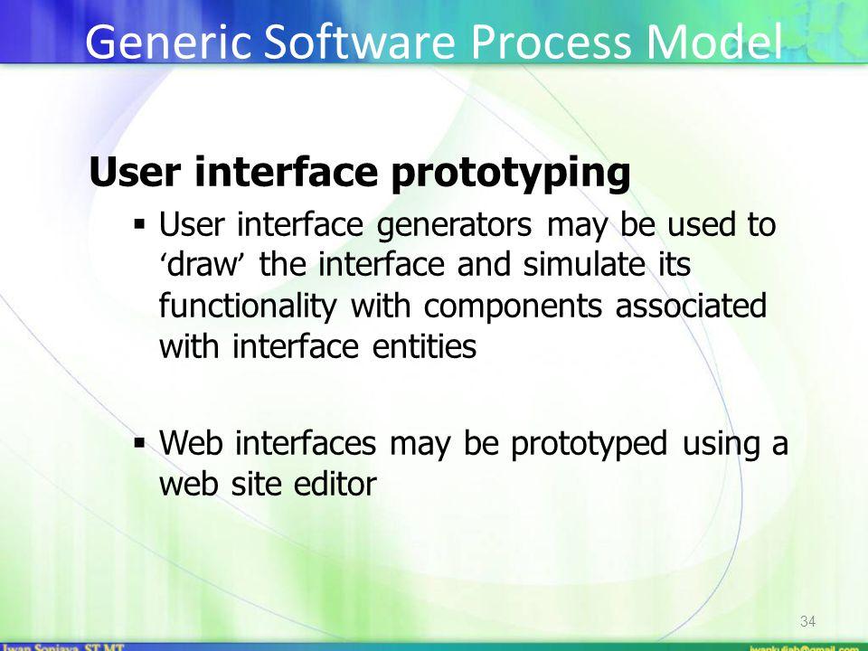 Generic Software Process Model