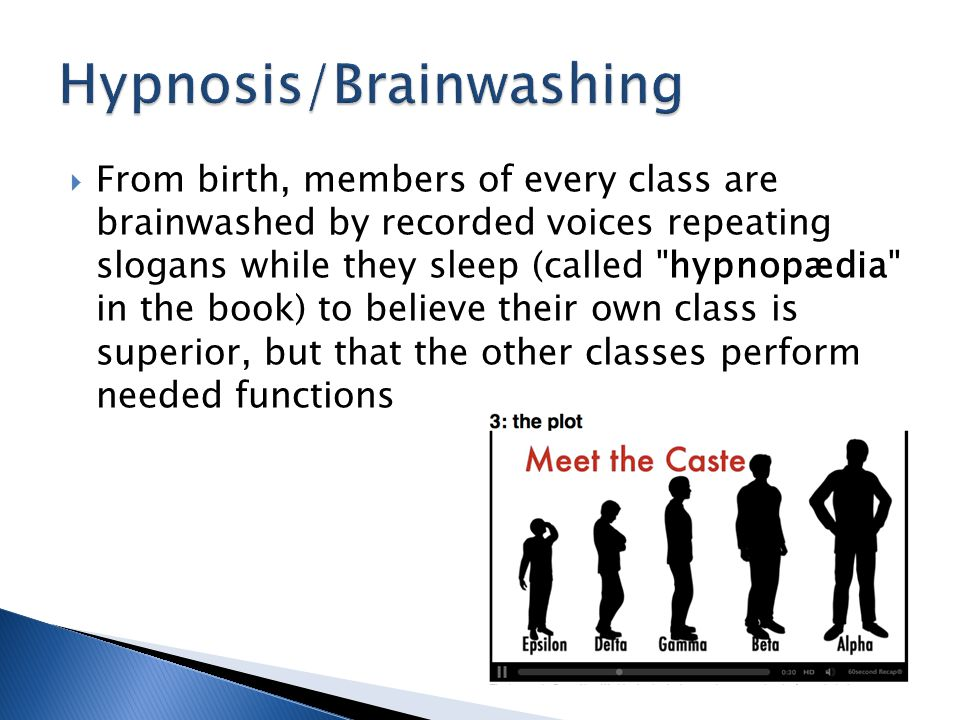 Hypnosis/Brainwashing