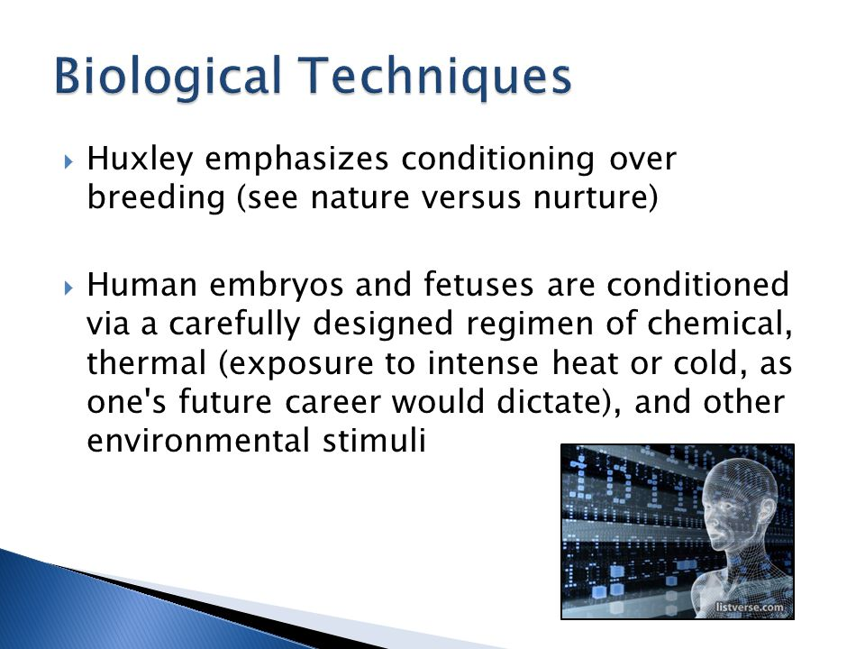 Biological Techniques