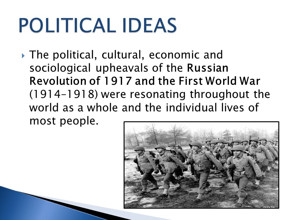 POLITICAL IDEAS