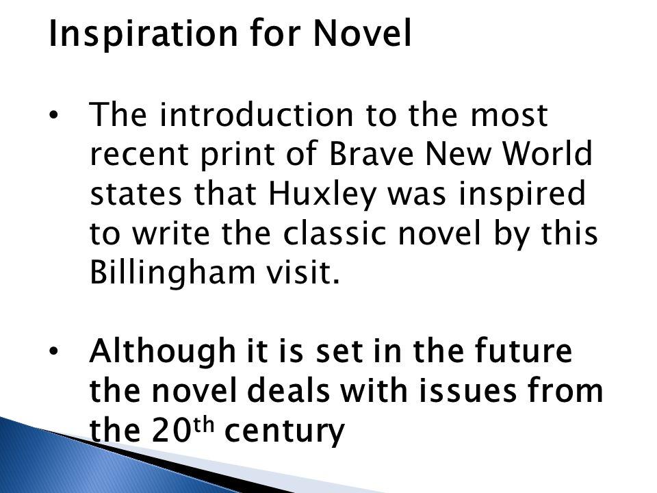 Inspiration for Novel