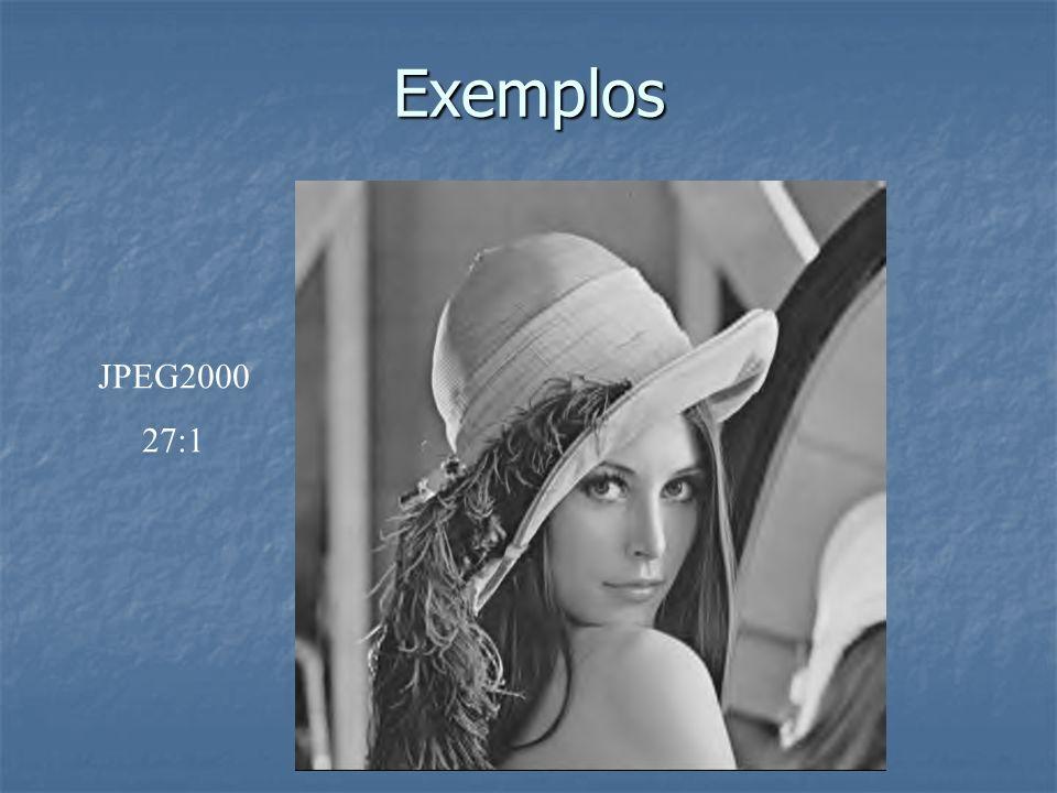 Exemplos JPEG2000 27:1