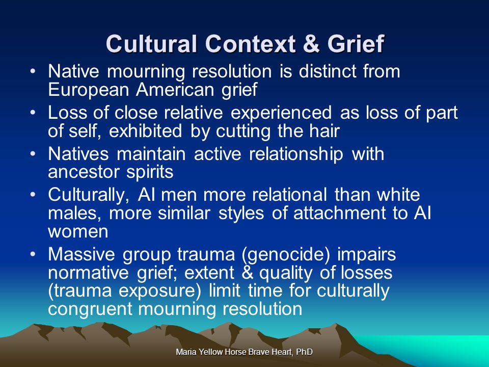 Cultural Context & Grief