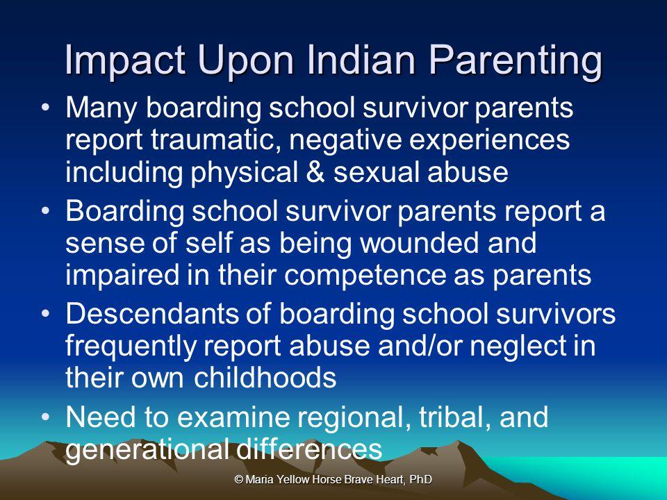 Impact Upon Indian Parenting