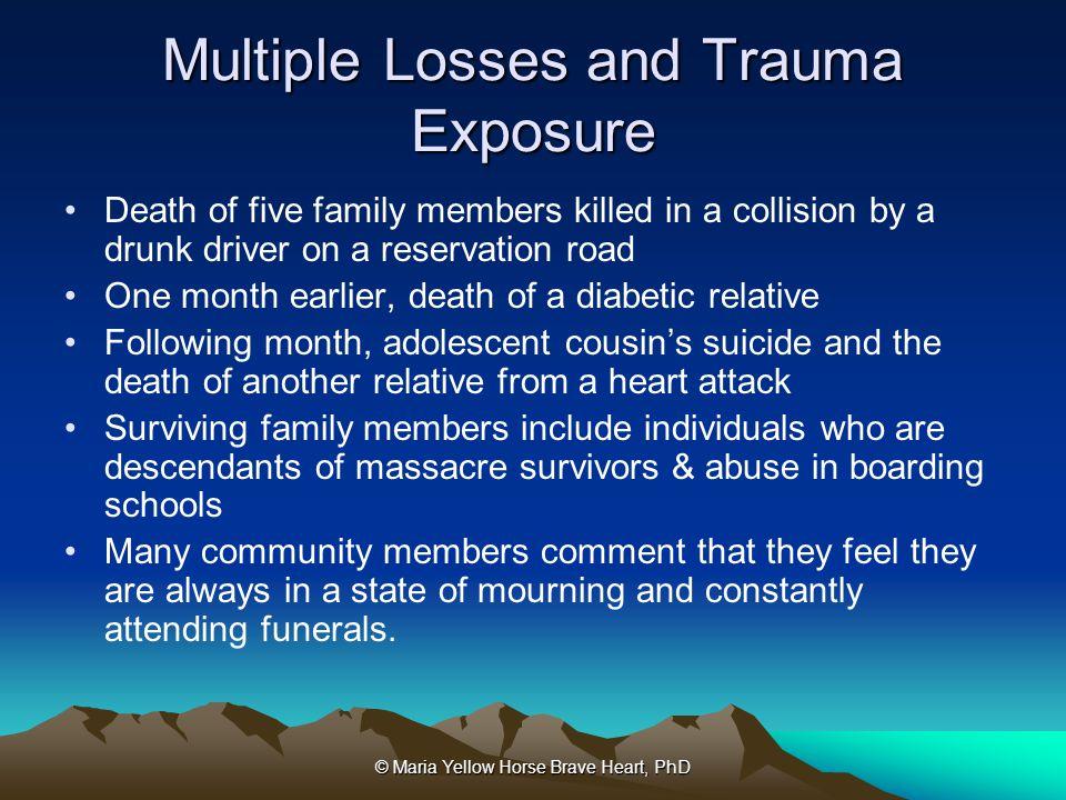 Multiple Losses and Trauma Exposure