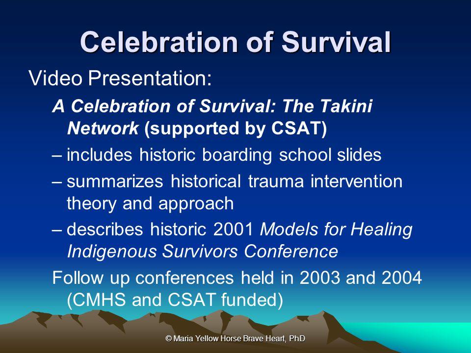 Celebration of Survival