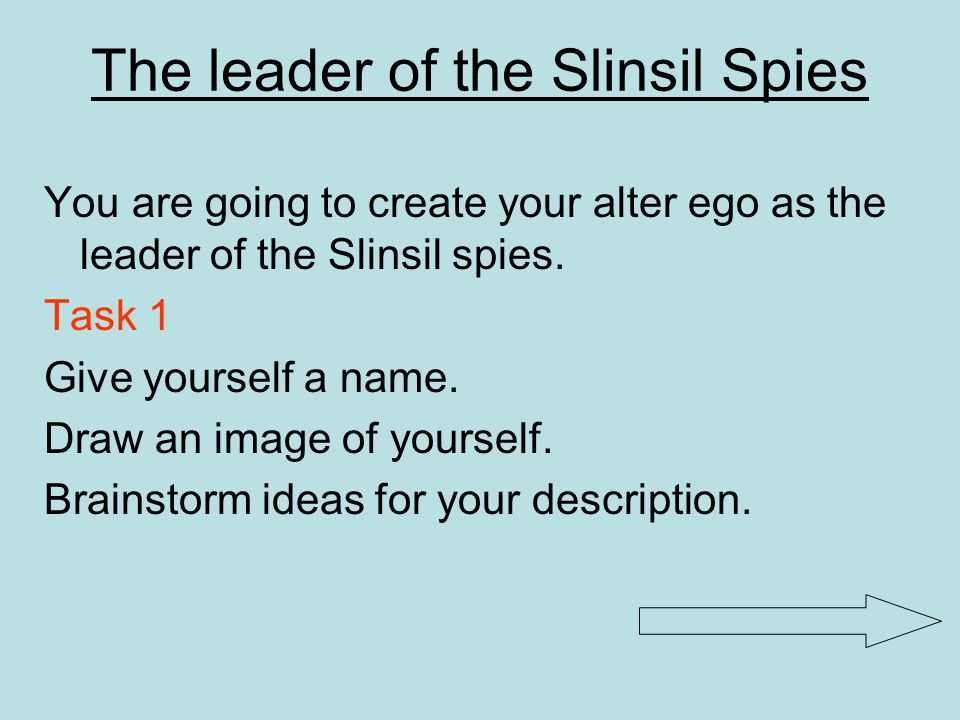 The leader of the Slinsil Spies